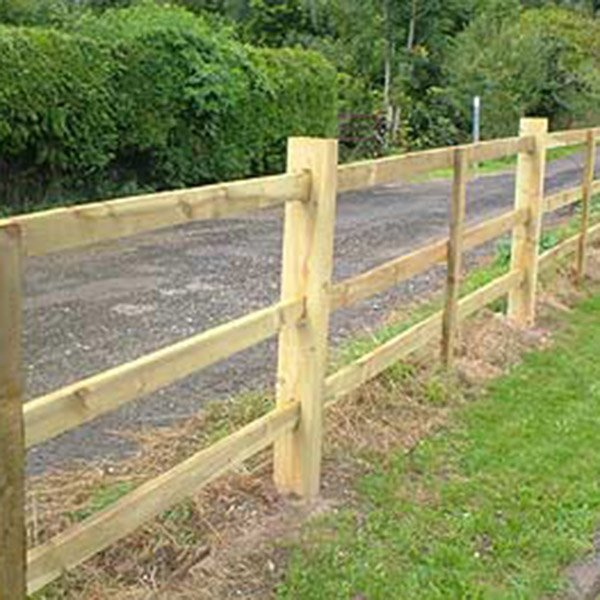 D Rail Fence Boards Various Sizes & Lengths