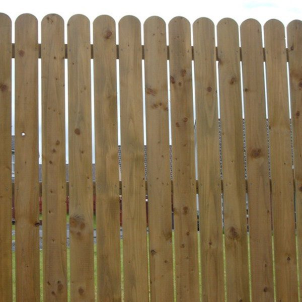 Round Top Fence Boards Various Sizes