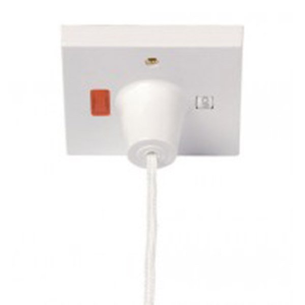 Shower pull cord switch
