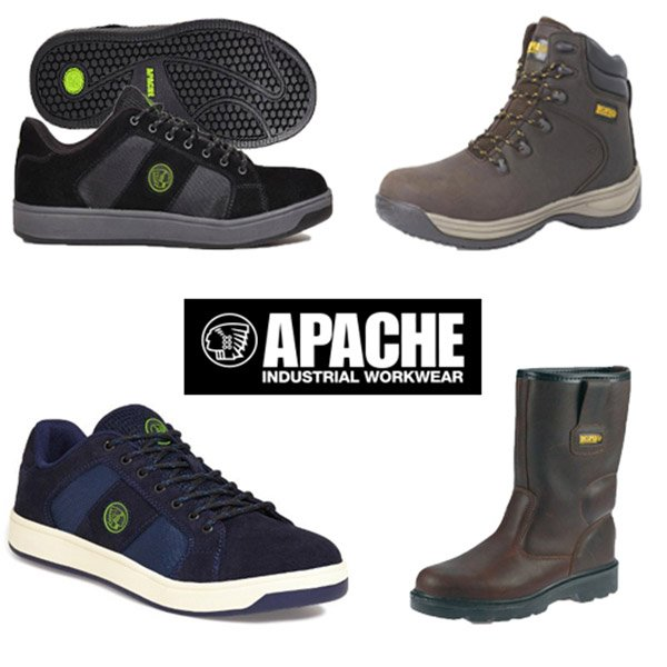 Various Apache Work Boots & Shoes